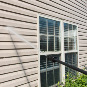 Business Exterior Power washing